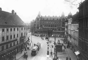 Alte Ansicht vom Margarethenplatz